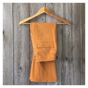Free People Golden Mustard Bootcut Jeans